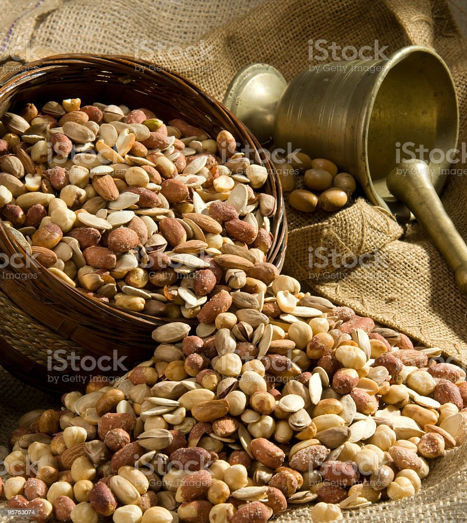 Cocktail Nut royalty-free stock photo