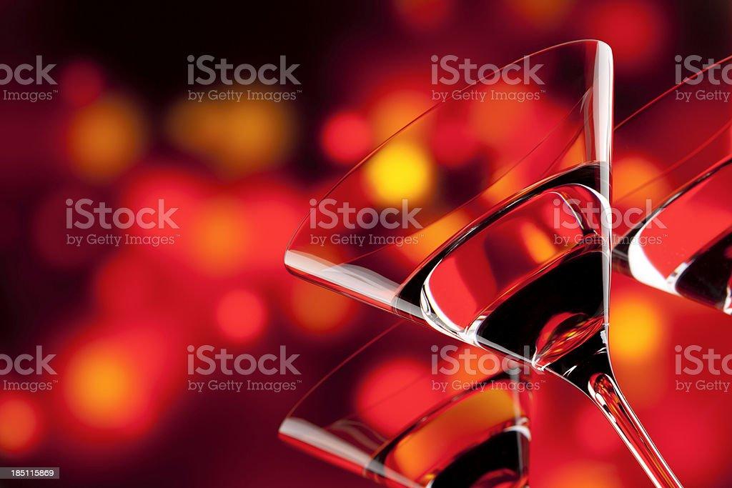 Cocktail Party - Drink Bar Alcohol Boke Martini Celebration stock photo