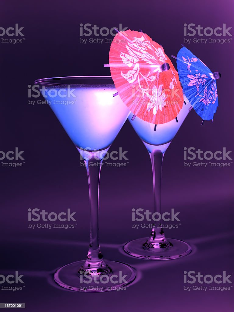 Cocktail Party royalty-free stock photo