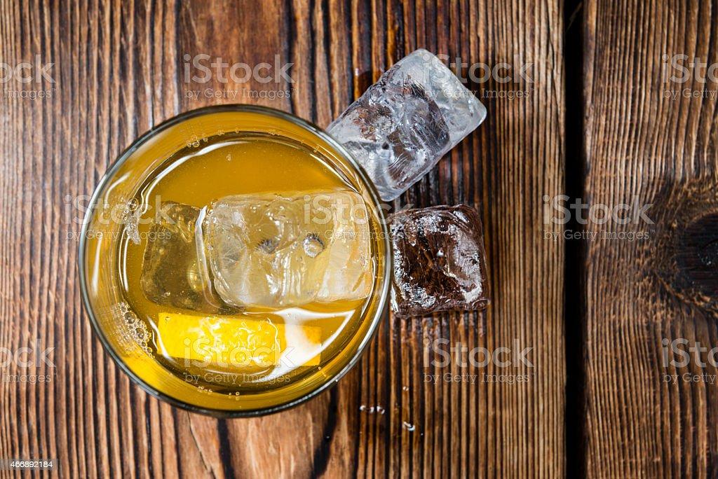 Cocktail (Whiskey Sour) stock photo