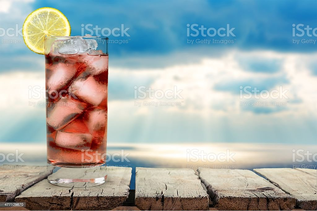 Cocktail, Pink, Drink stock photo