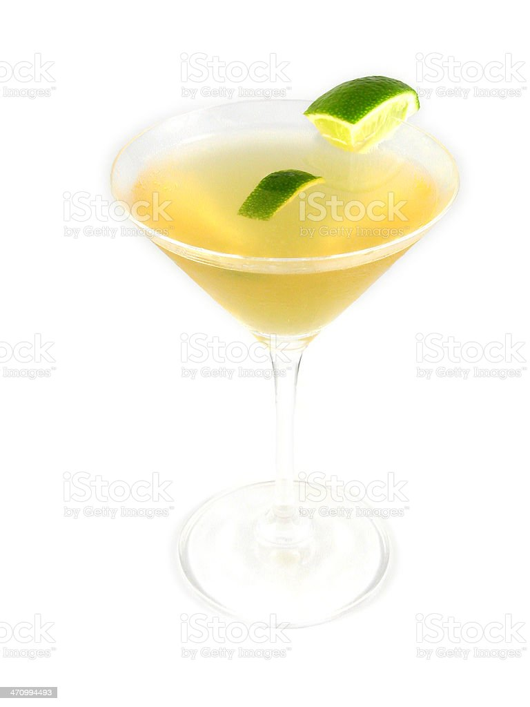 cocktail series: Boston Sidecar. royalty-free stock photo