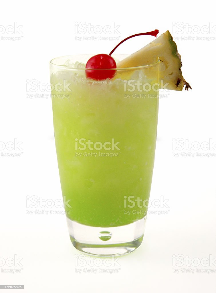 cocktail series: Green Eyes. stock photo