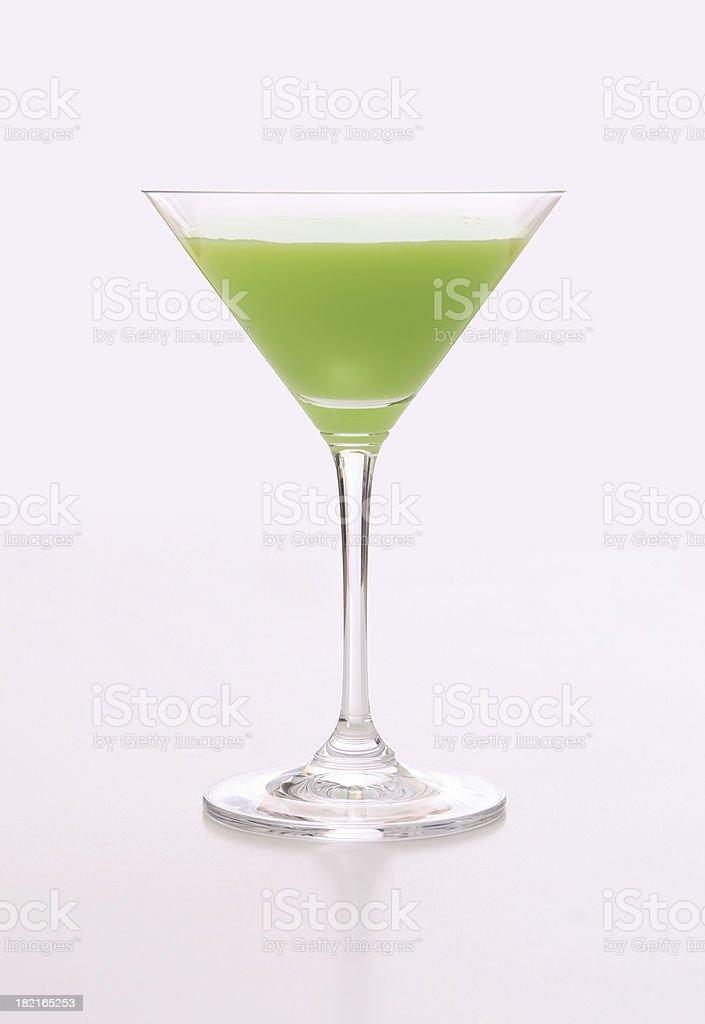 cocktail series: Key Lime Pie. stock photo