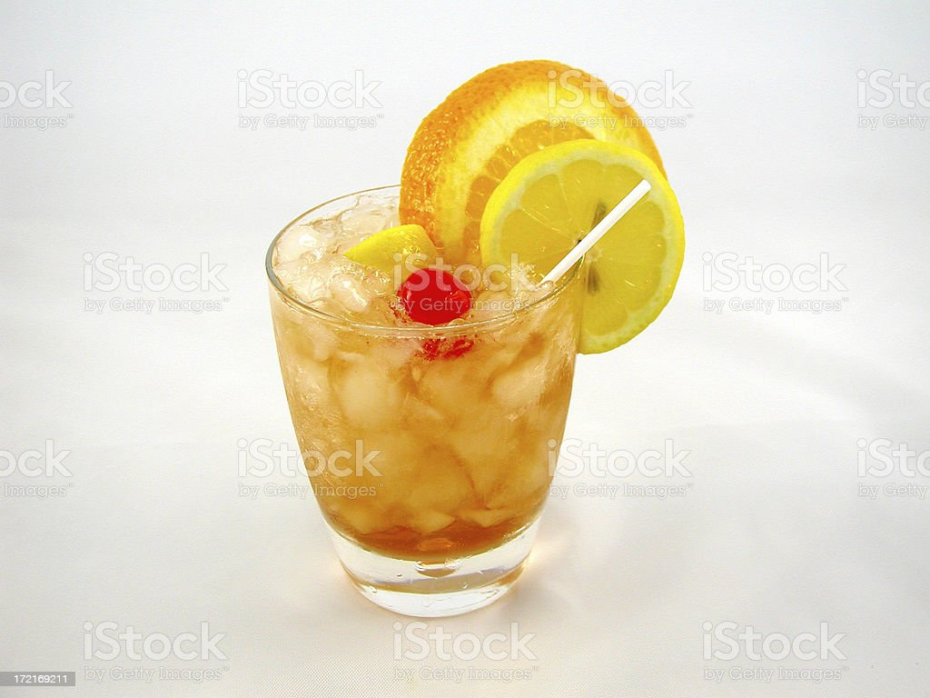 cocktail series: Old-Fashioned. stock photo