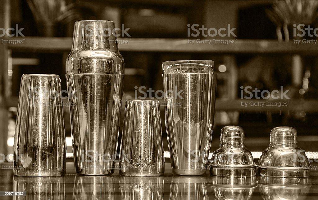 cocktail shaker, bar stock photo