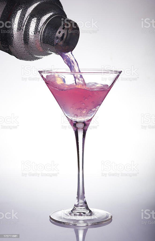 cocktail splash stock photo