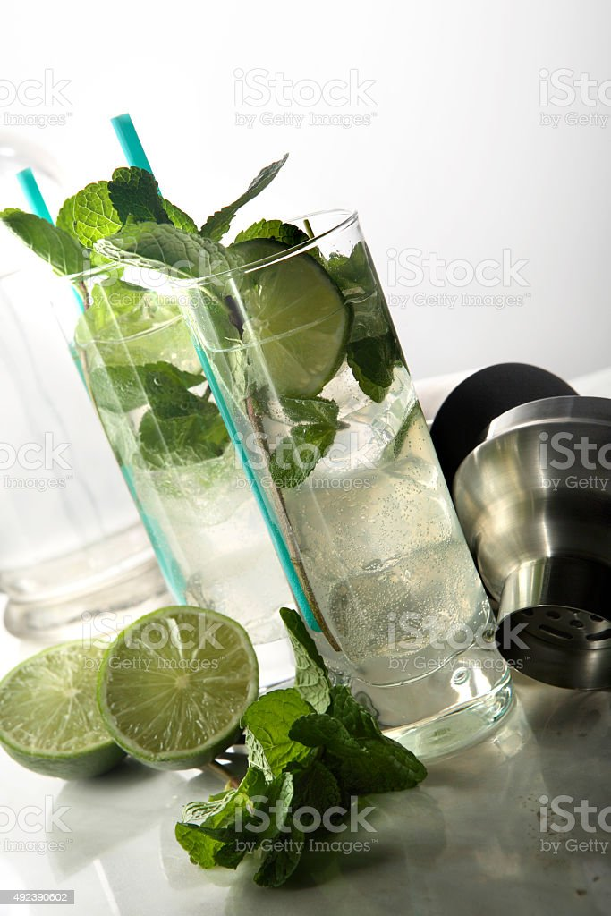 Cocktail Stills: Mojito stock photo