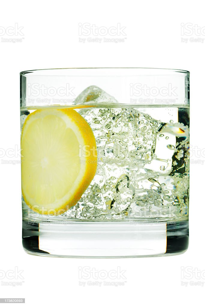 Cocktail Tom Collins stock photo
