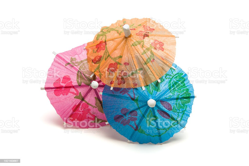 Cocktail Umbrella royalty-free stock photo