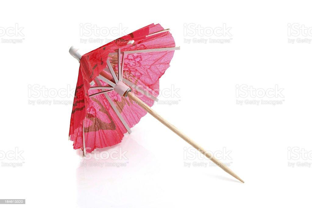 Cocktail umbrella stock photo
