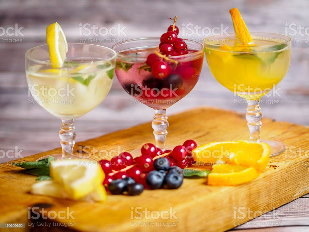 Cocktail Variety stock photo