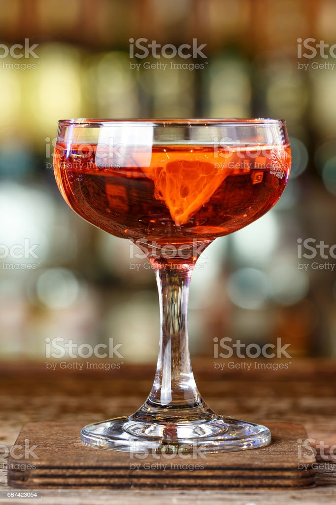 Cocktail with rum stock photo