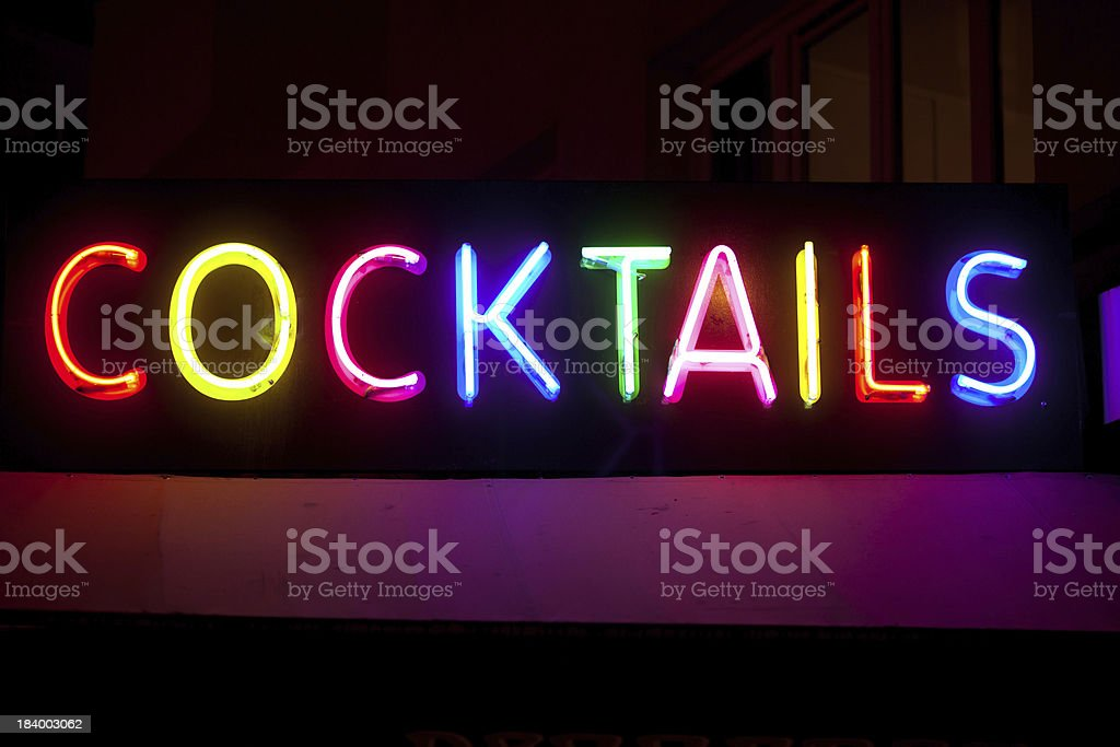 cocktails and drinks stock photo