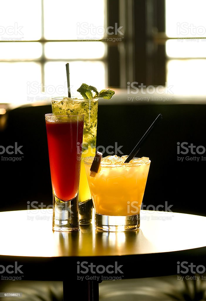 Cocktails at the Chapel 1 royalty-free stock photo