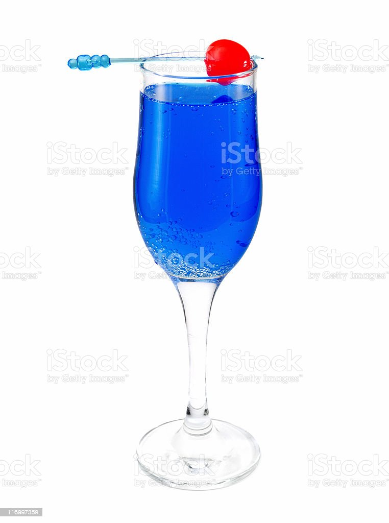 Cocktails Collection - Absolut Blue Souvenir royalty-free stock photo