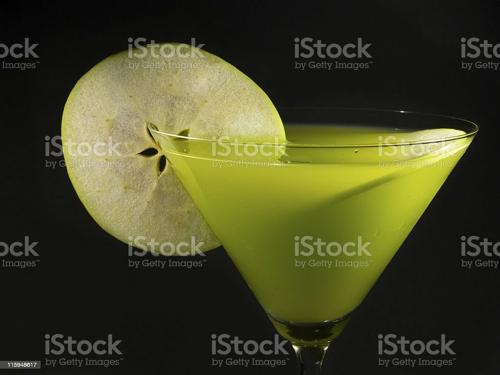 Cocktails Collection - Apple Martini stock photo