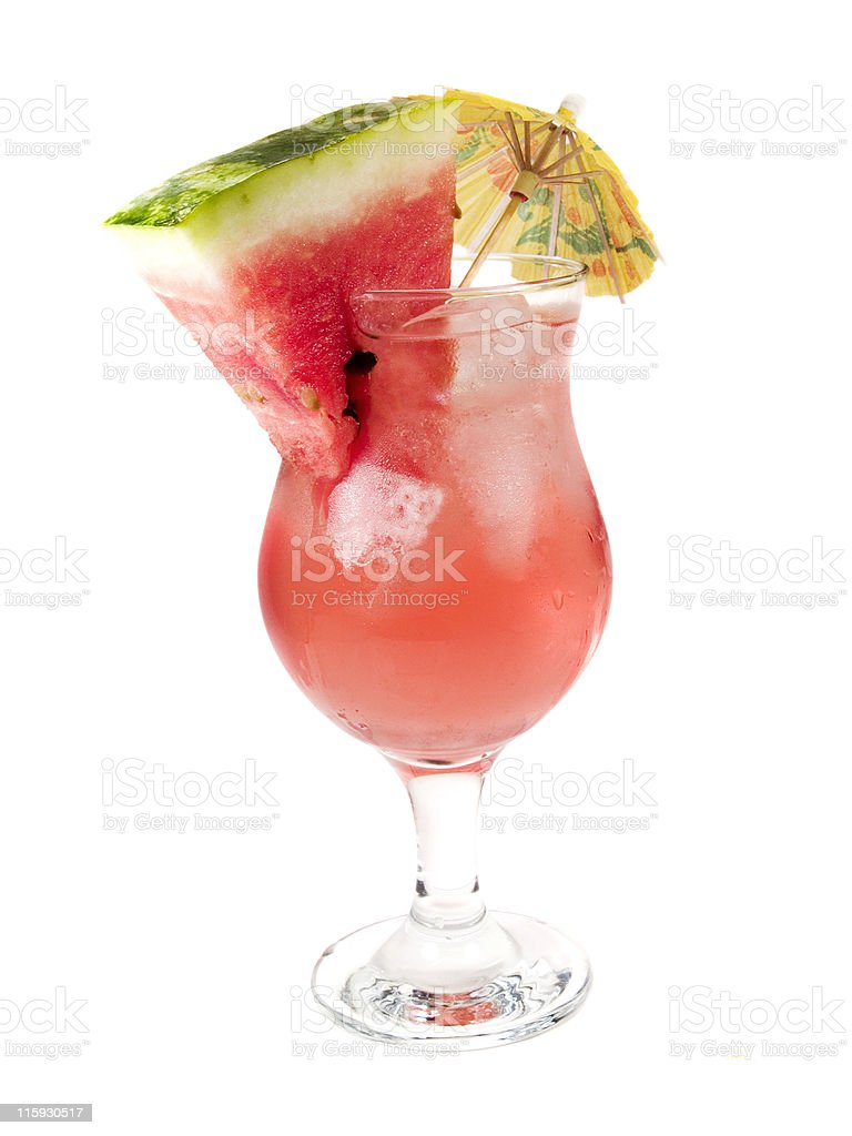 Cocktails Collection - Atomic Watermelon royalty-free stock photo