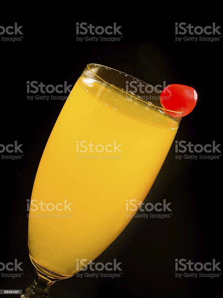 Cocktails Collection - Bellini stock photo
