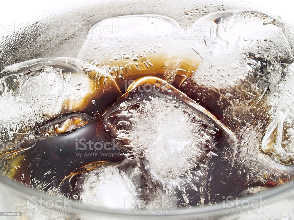 Cocktails Collection - Black Russian royalty-free stock photo