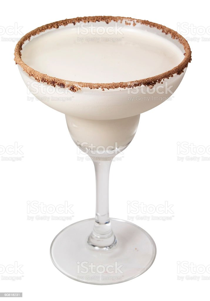 Cocktails Collection -  Brandy Alexander royalty-free stock photo