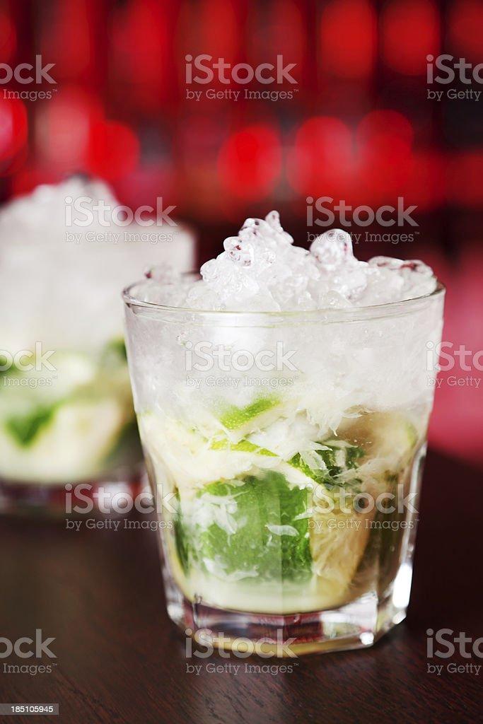 Cocktails Collection - Caipirinha stock photo