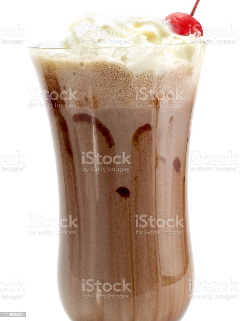 Cocktails Collection - Chocolate Milkshake royalty-free stock photo