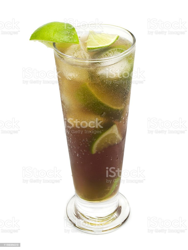Cocktails Collection - Cuba Libre royalty-free stock photo