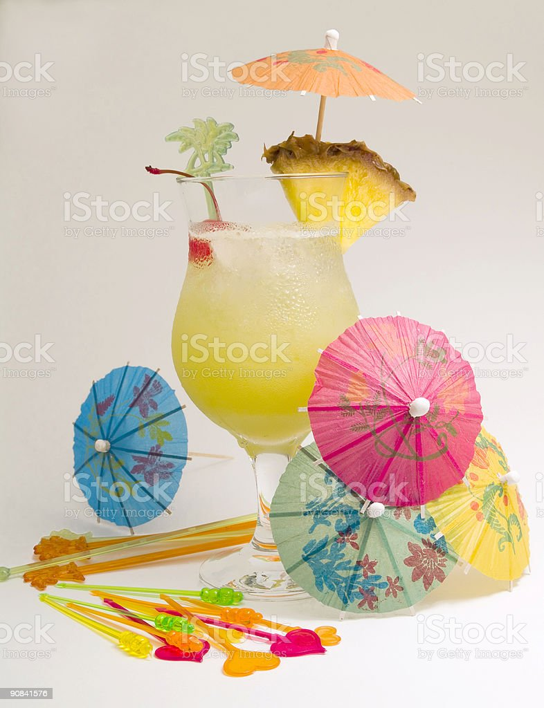 Cocktails Collection - Green Eyes royalty-free stock photo