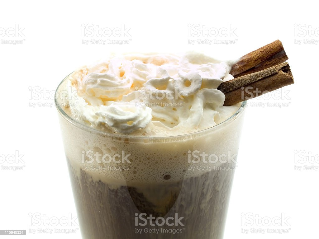 Cocktails Collection - Irish Coffee stock photo