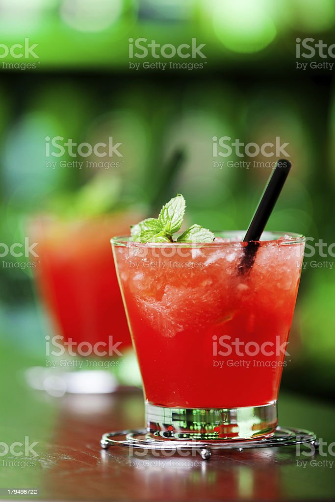 Cocktails Collection - Mai Tai royalty-free stock photo