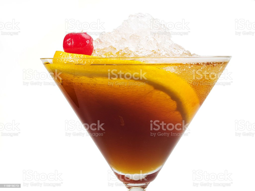 Cocktails Collection - Manhattan royalty-free stock photo