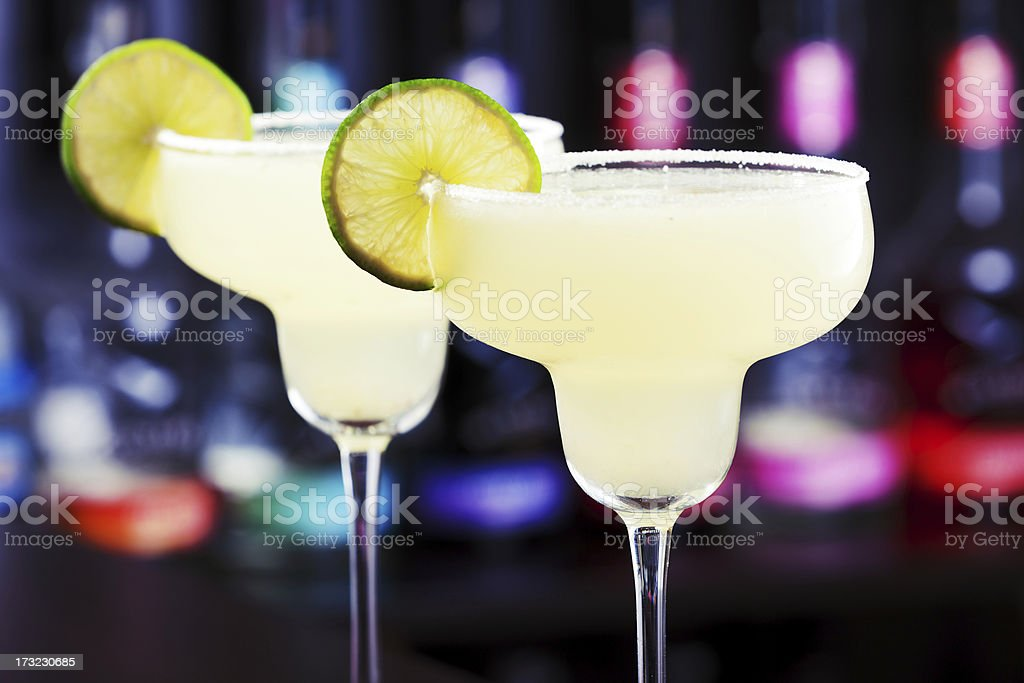 Cocktails Collection - Margarita stock photo