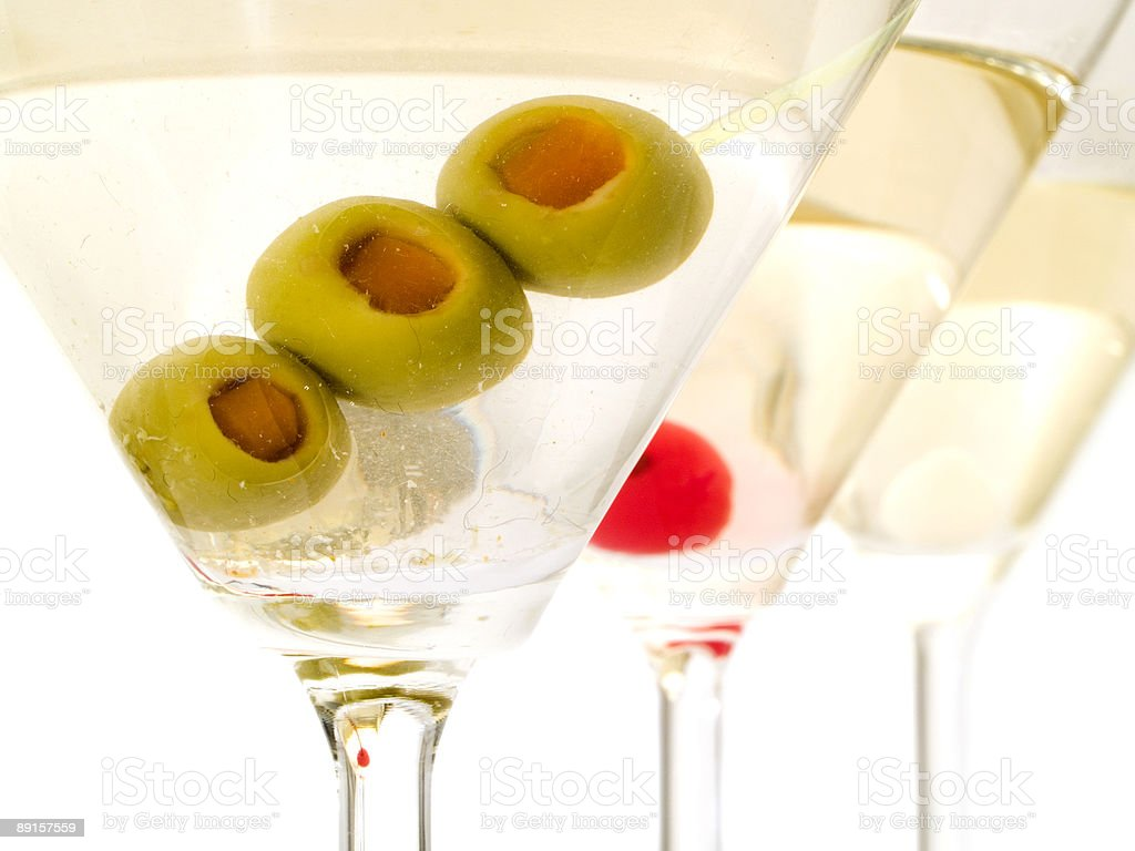 Cocktails Collection - Martinies royalty-free stock photo