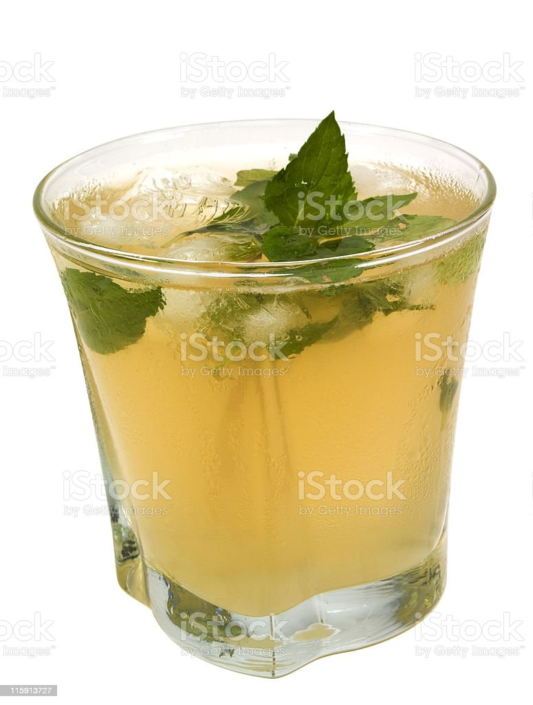 Cocktails Collection - Mint Julep royalty-free stock photo