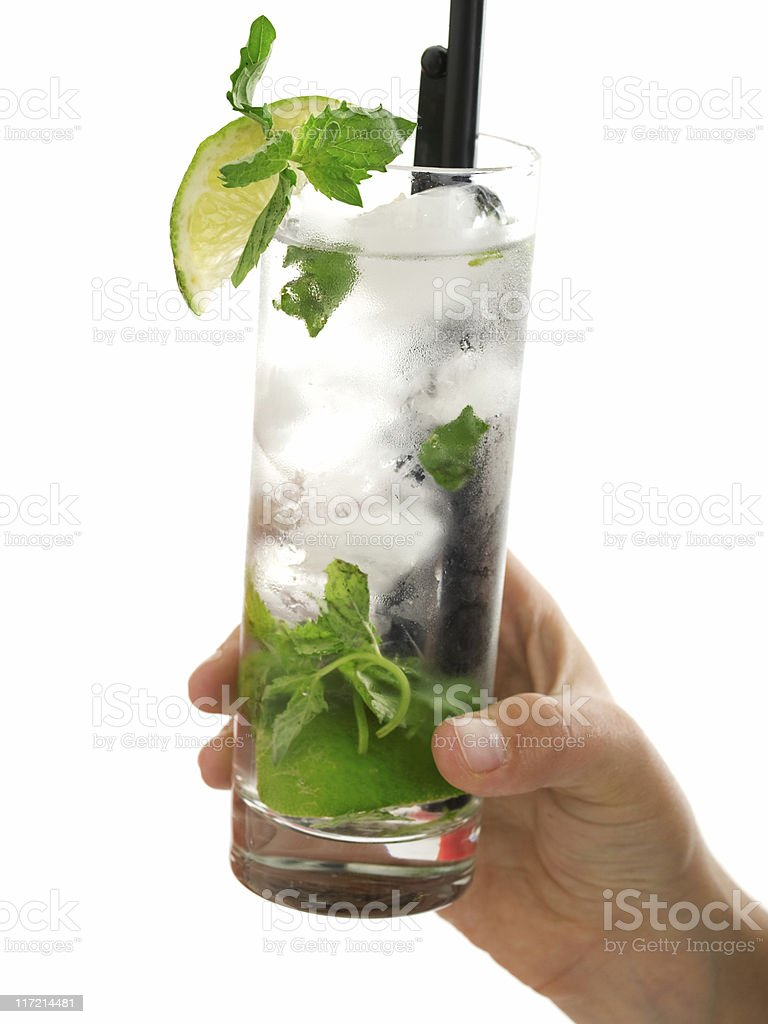 Cocktails Collection - Mojito stock photo