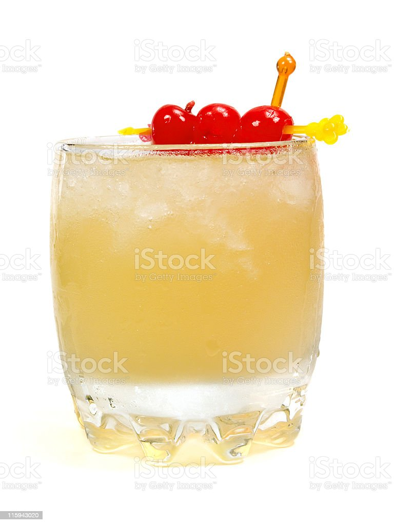 Cocktails Collection - Old Fashioned royalty-free stock photo