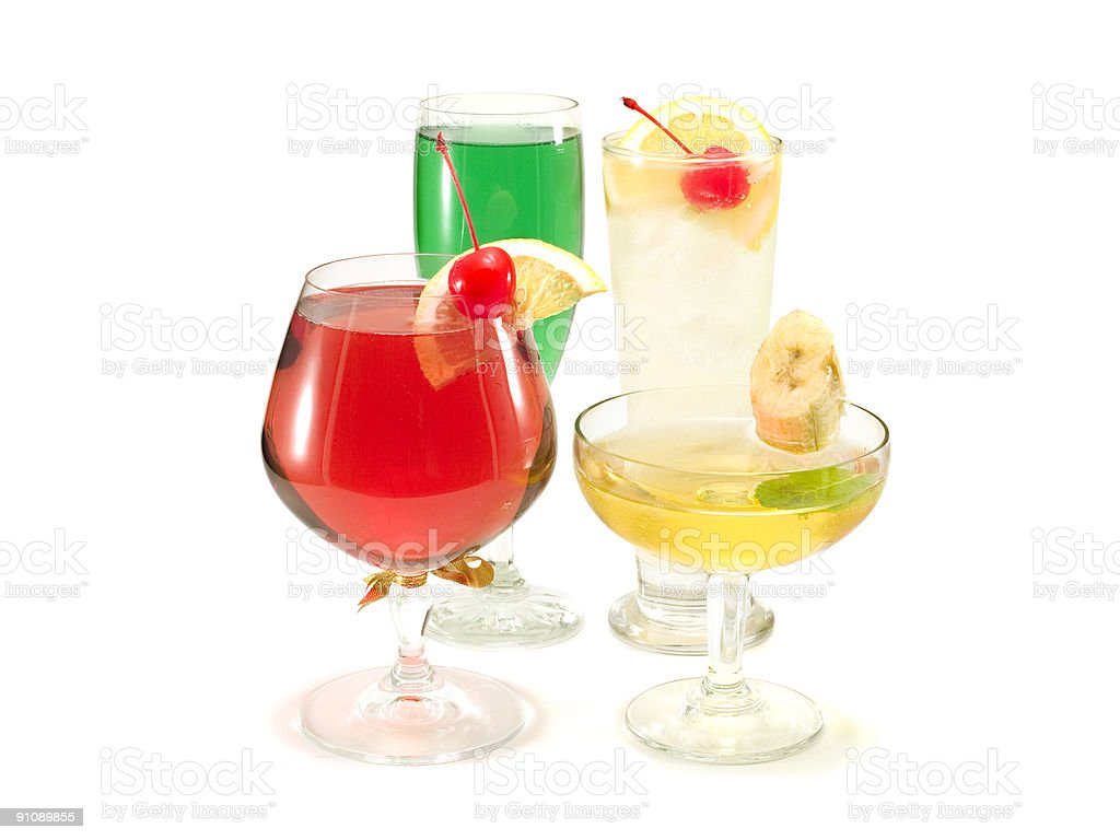Cocktails Collection stock photo