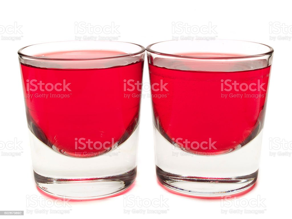 Cocktails Collection - Purple Hooter stock photo