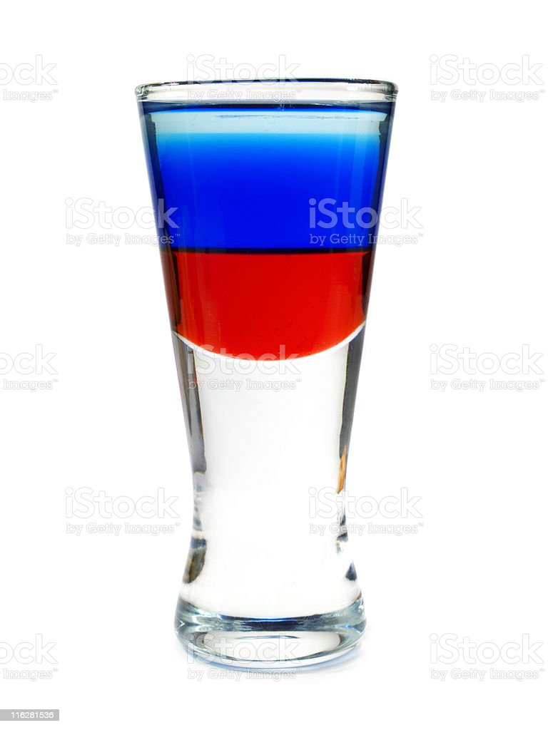 Cocktails Collection - Russian Shot royalty-free stock photo