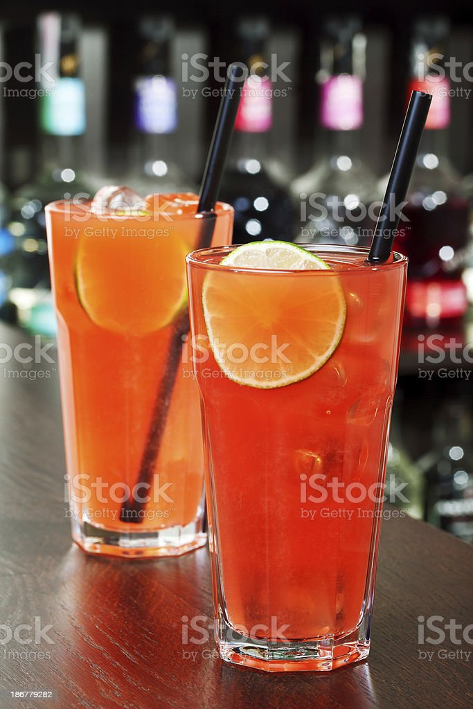 Cocktails Collection - Sea Breeze stock photo