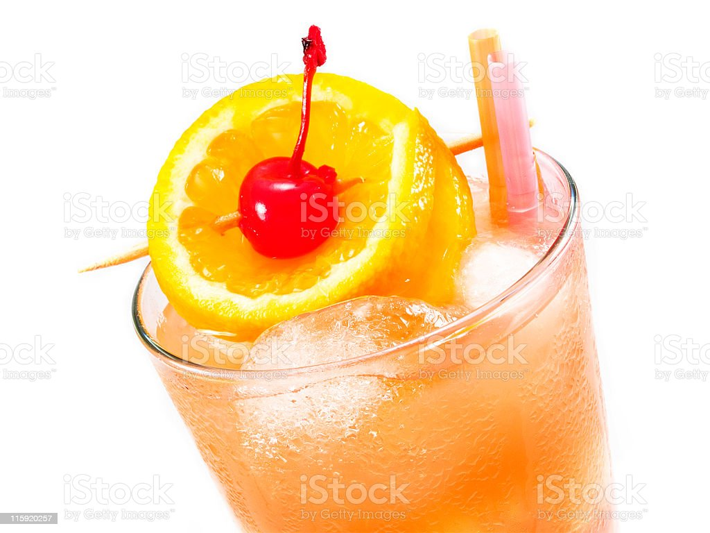 Cocktails Collection - Sex On The Beach royalty-free stock photo
