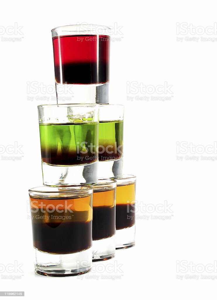 Cocktails Collection - Shot Enterprise royalty-free stock photo