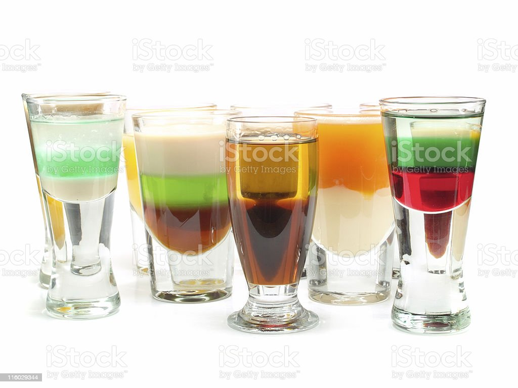 Cocktails Collection - Shot Enterprise stock photo