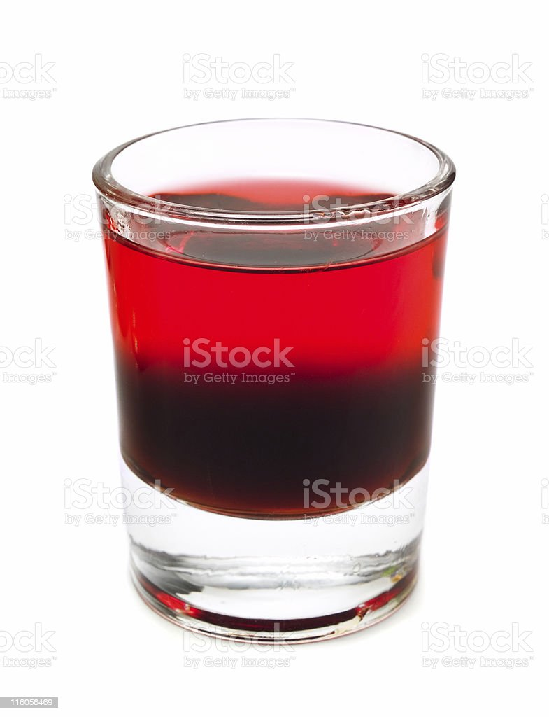 Cocktails Collection - Shot royalty-free stock photo