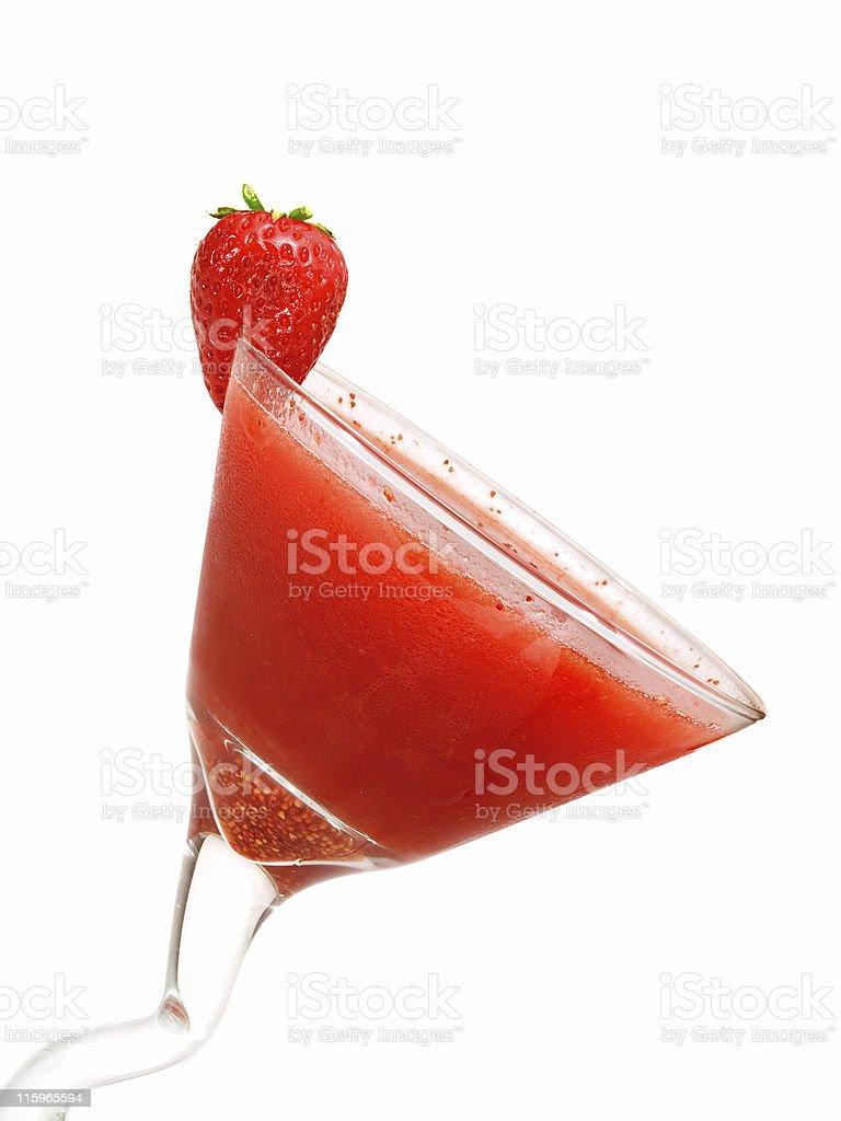 Cocktails Collection - Strawberry Daiquiri stock photo