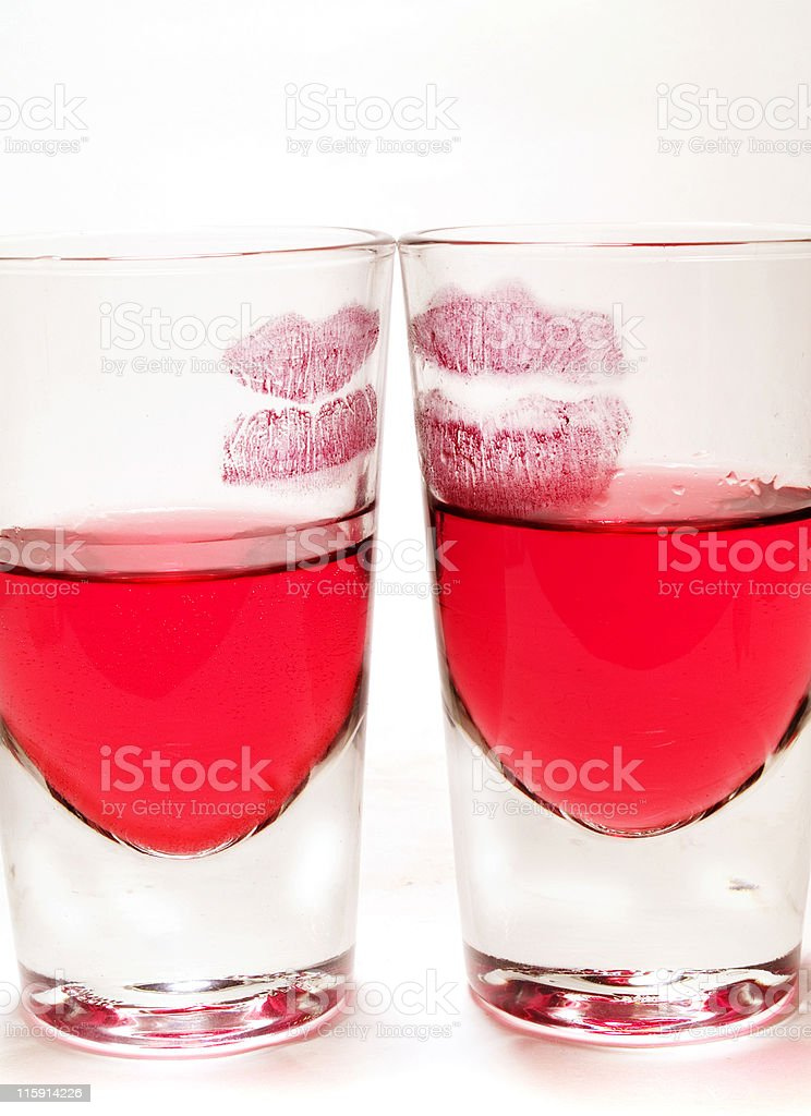 Cocktails Collection - The Kiss (2) stock photo