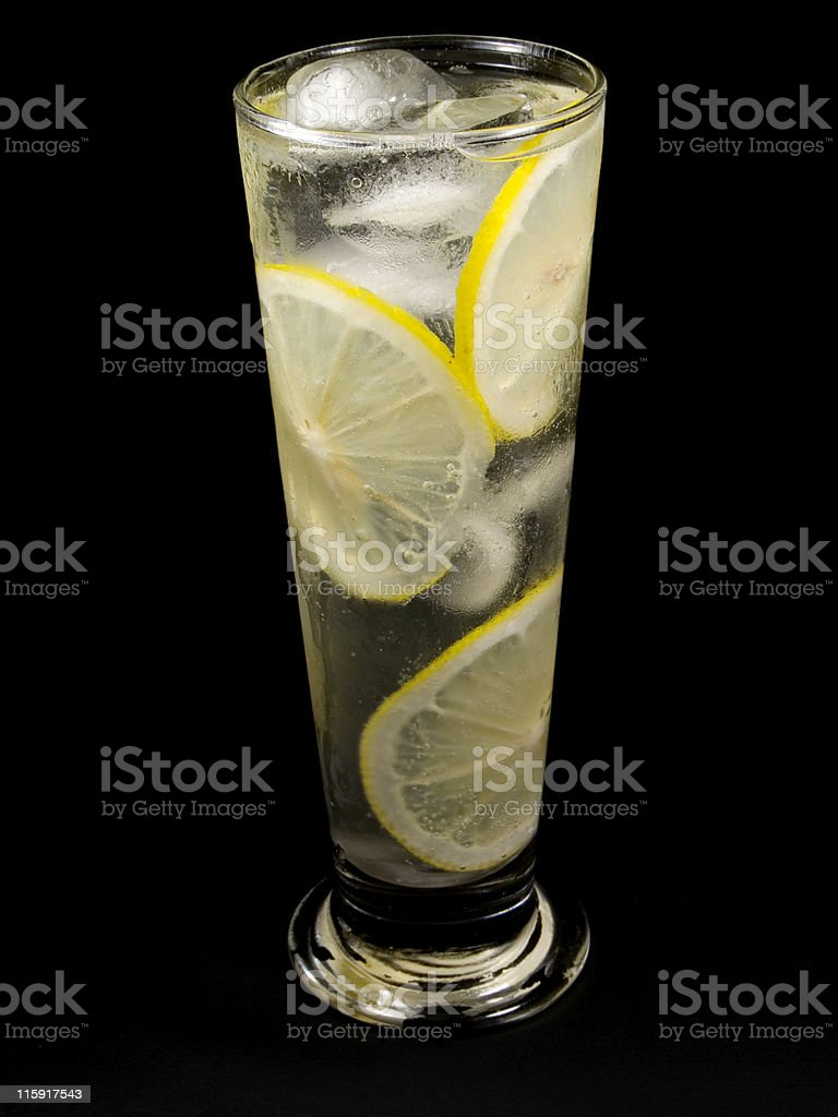 Cocktails Collection - Tom Collins royalty-free stock photo