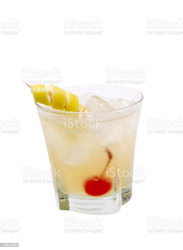 Cocktails Collection - Whiskey Sour stock photo