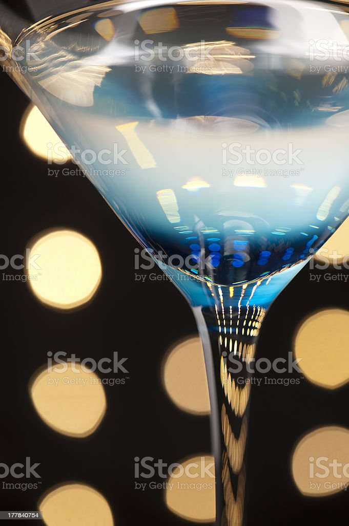 Cocktails on the dance floor royalty-free stock photo